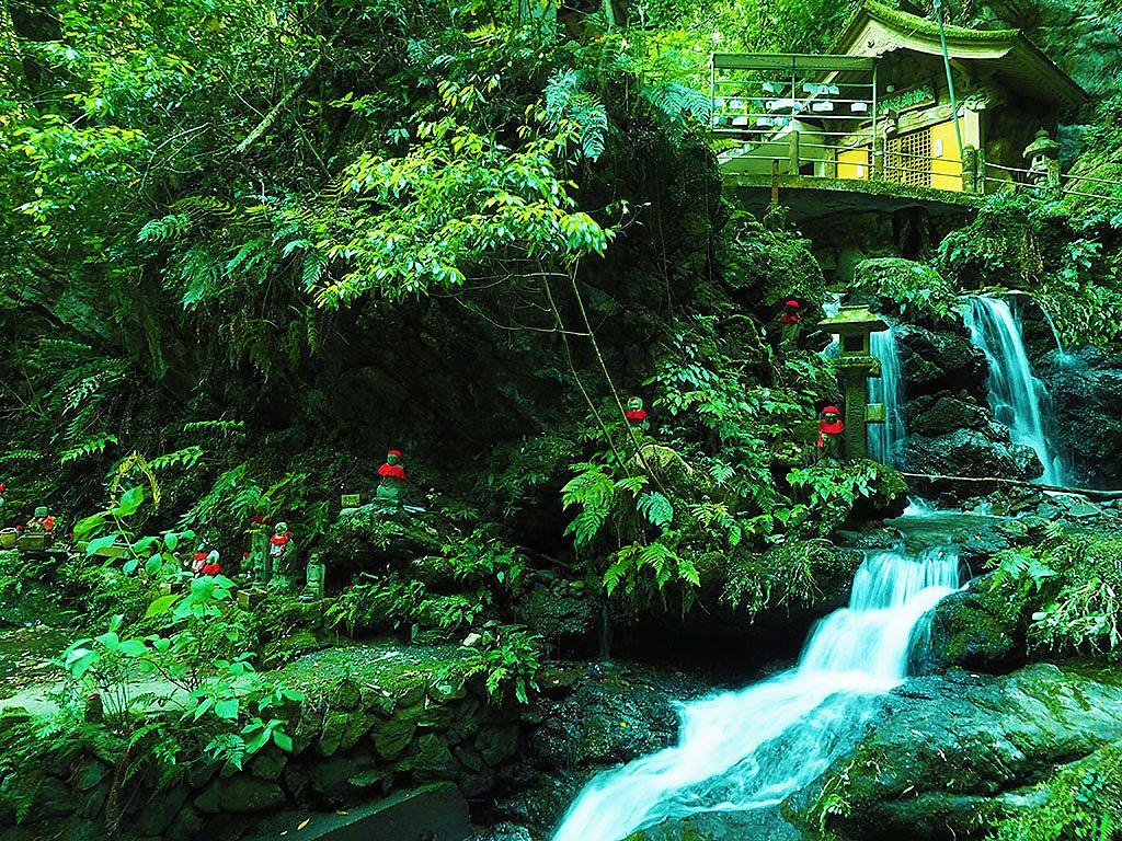 静岡の森に息づくジブリ!丸子「大鈩不動尊」の幻想光景が美しい