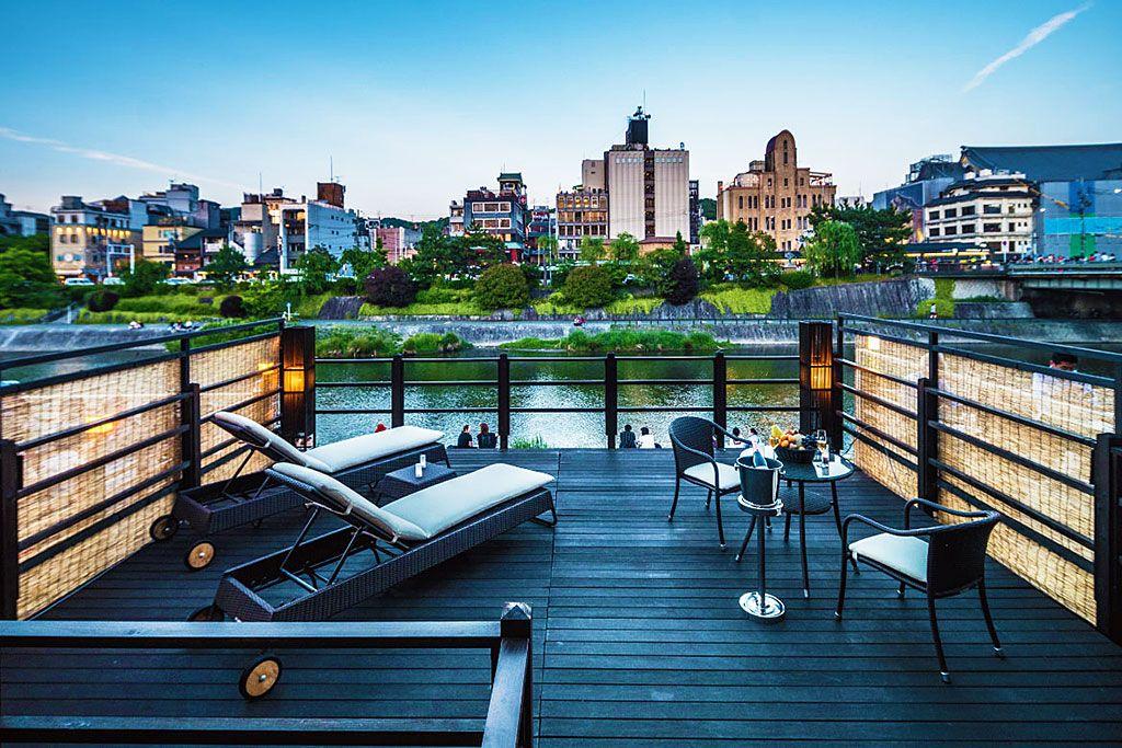 京都の川床付き宿で非日常時間を!Villa Pontocho KYOTO 先斗町別邸
