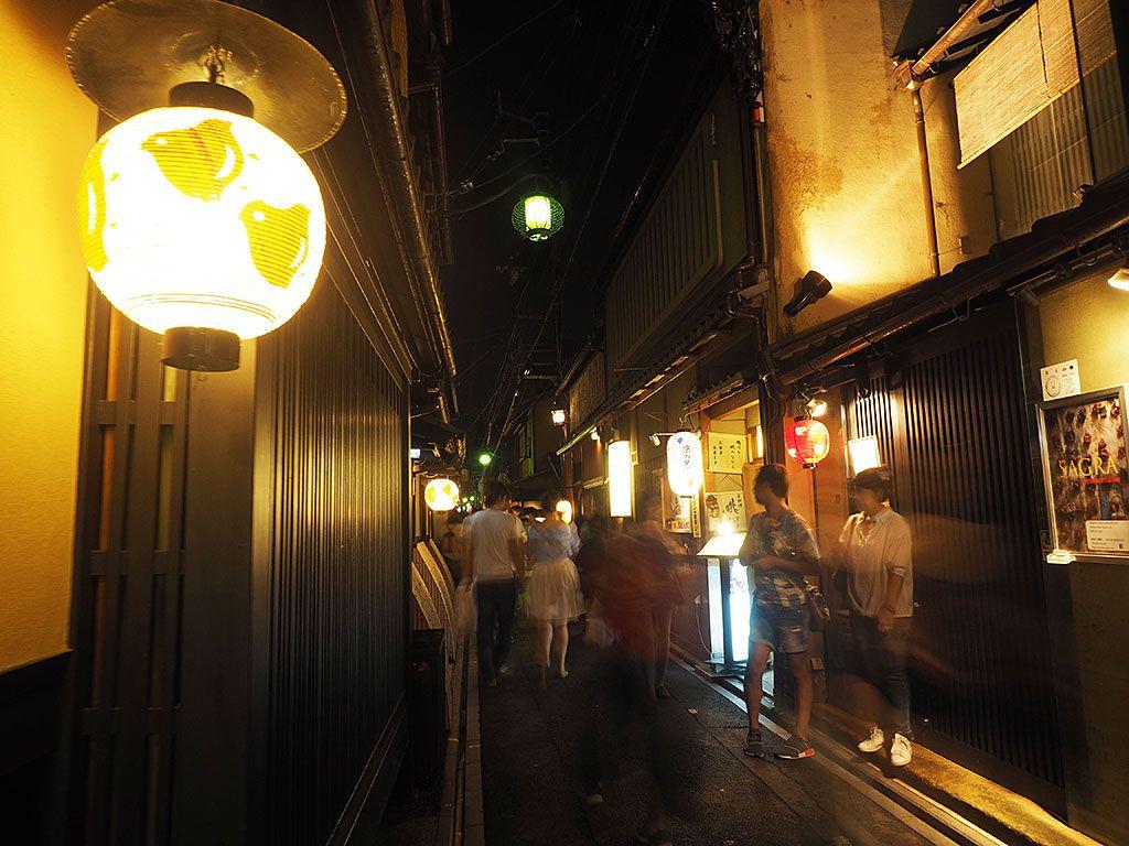 美食の宝庫・先斗町へお出かけしよう