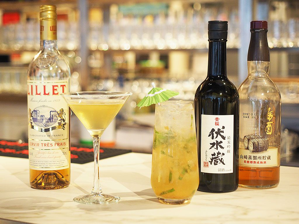 ここだけの日本酒カクテルを