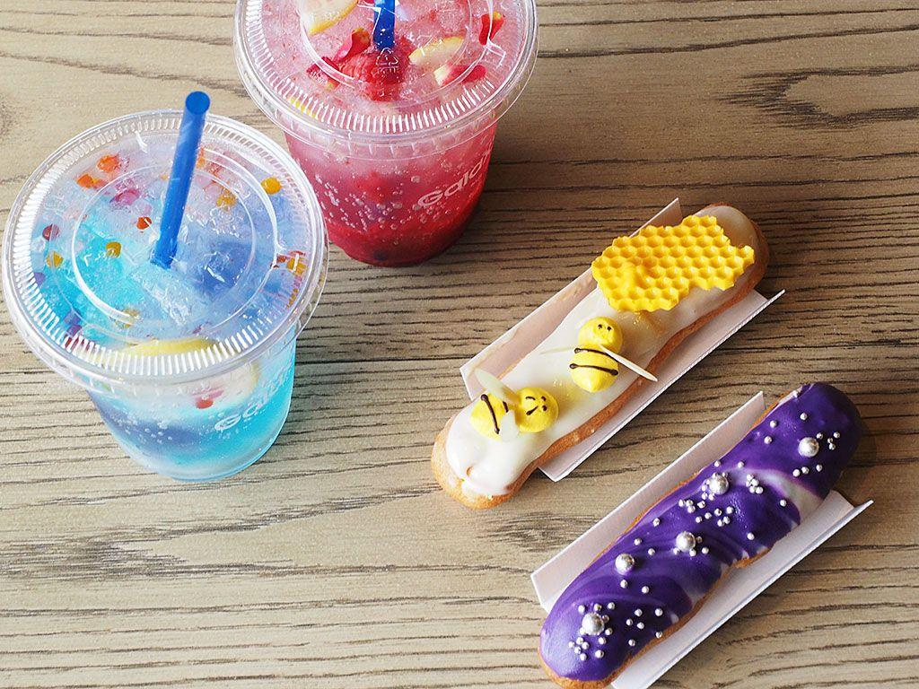 原宿の空を楽しめる、おしゃれなオープンカフェも!