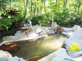 秘湯なのに不便さゼロ!?長野・雨飾山の緑したたる温泉、雨飾高原露天風呂