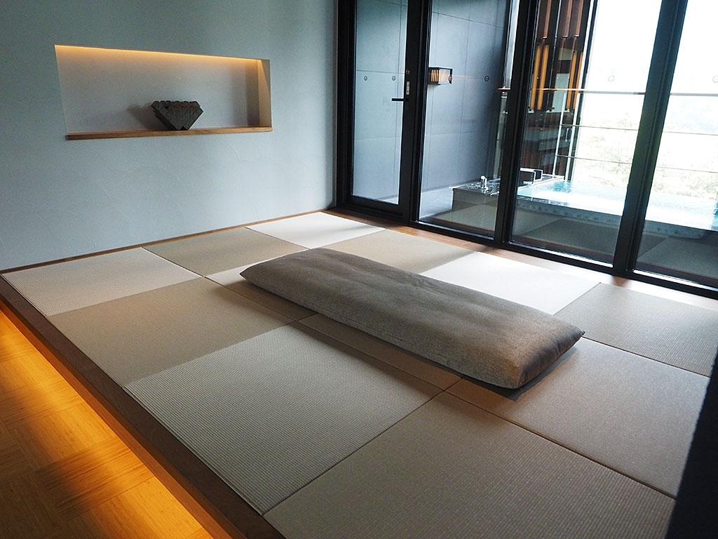 【その2】一番お風呂が広い客室「月見」