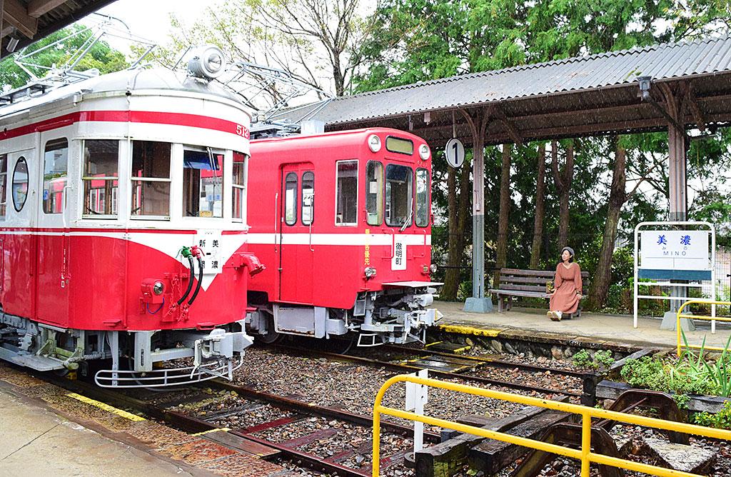【10:00着】ディープで楽しい「旧名鉄美濃駅舎」へGO