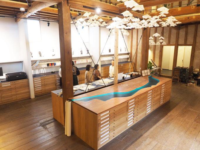 【12:00】美濃和紙に新風を吹き込む専門店&ランチ