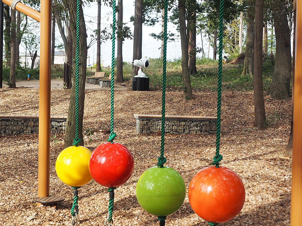 鶴間公園でしか会えない、特別なスヌーピー