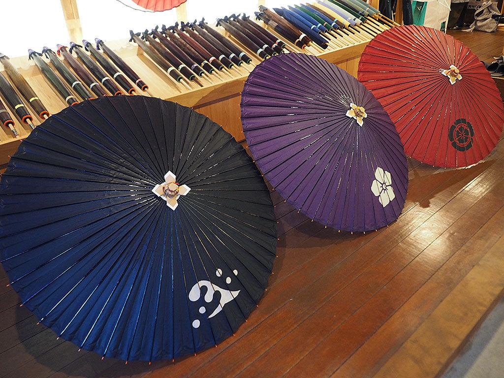 武将和傘にFIAT和傘も!