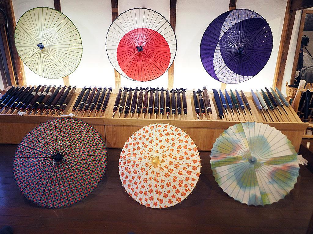 懐かしい町並みの川原町で、大人可愛い和傘を!