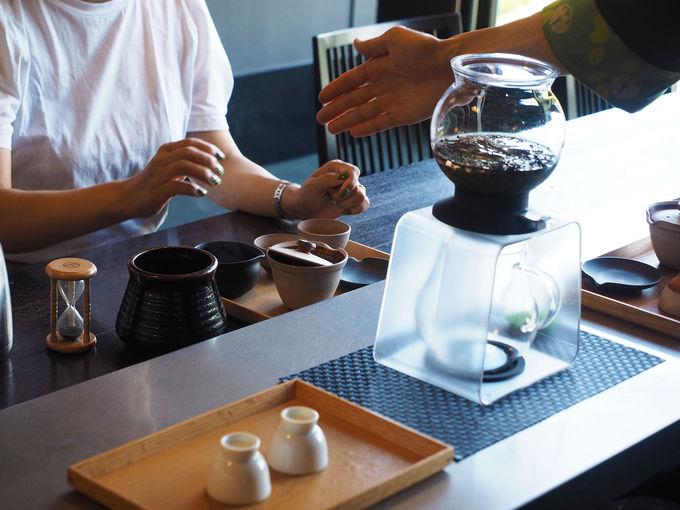 舘山寺温泉のモダンな宿でお茶湯治