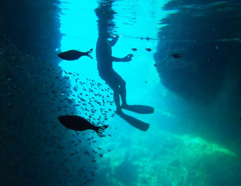 青の洞窟シュノーケリングは誰もいない朝一で!星のや沖縄の特別な体験