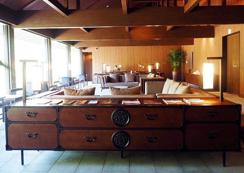 旅館だけど、高級感のある別荘のような佇まい