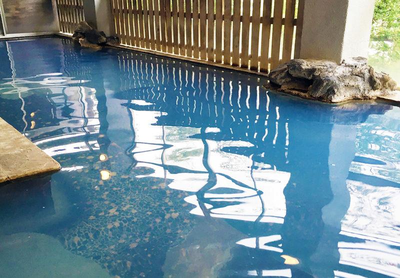 出会えるかは運次第!鳴子温泉「旅館すがわら」奇跡のすがわらブルー