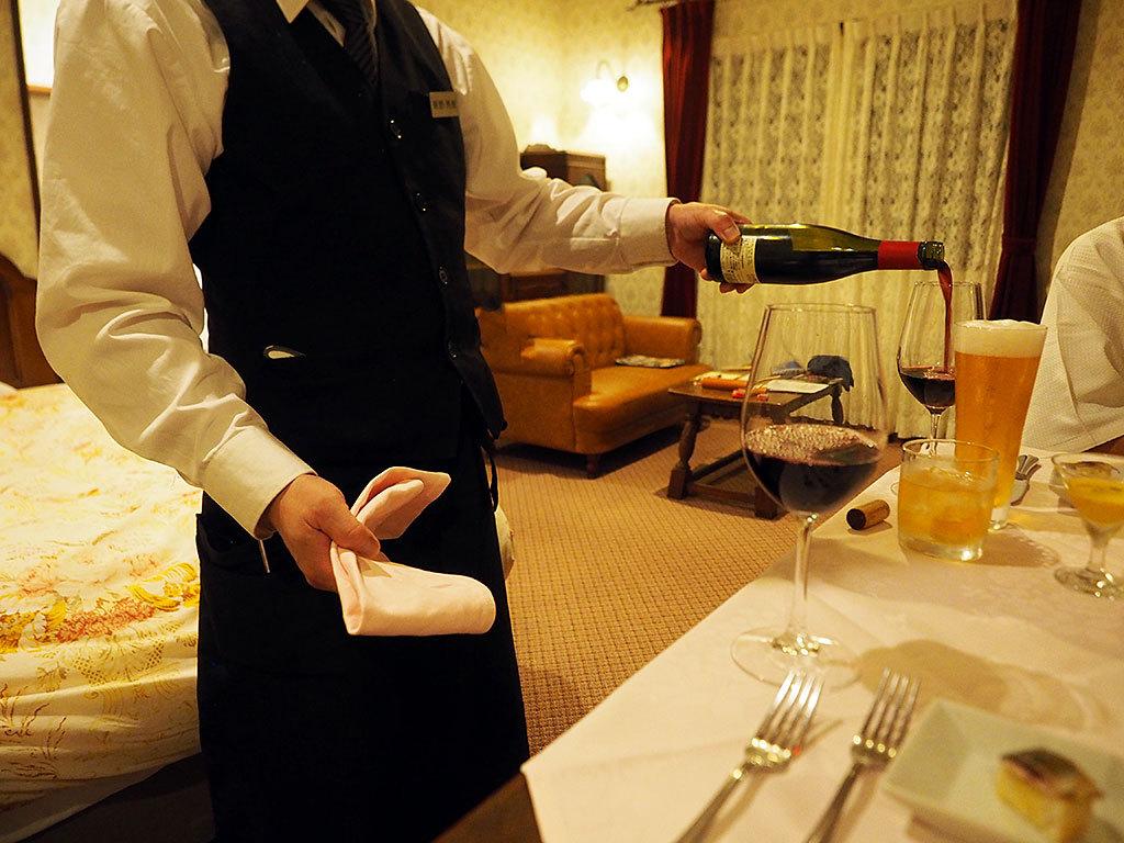 お部屋が高級レストランに!?