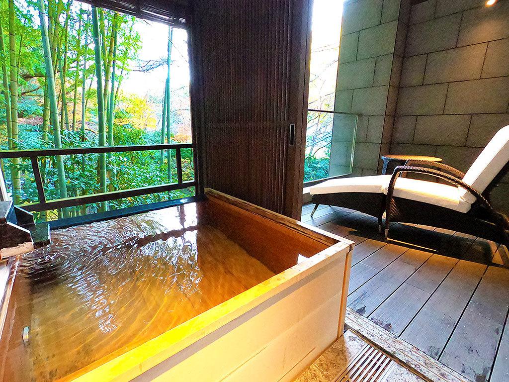 プライベート空間+温泉を独り占めする贅沢