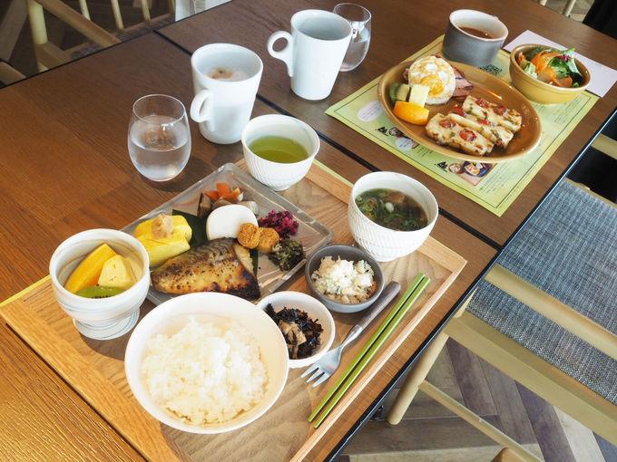 おかわり自由。夢のような朝食を!