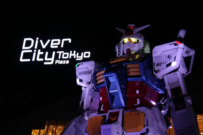ダイバーシティ東京といえば実物大ガンダム