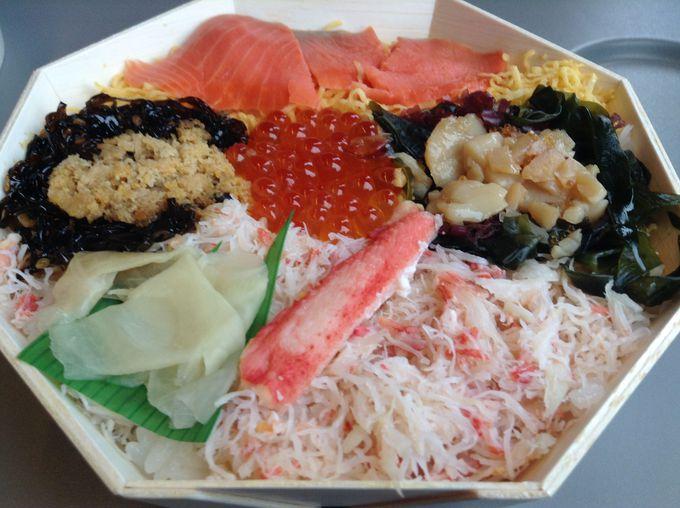 海鮮えぞ賞味 ¥1000(税込み)