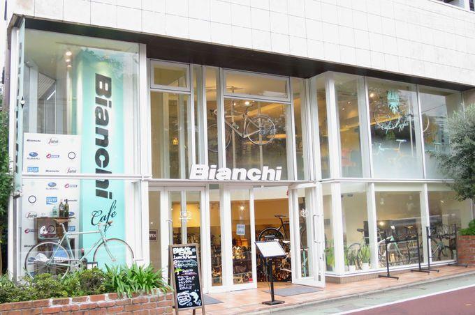 ビアンキがプロデュースする日本初のカフェ