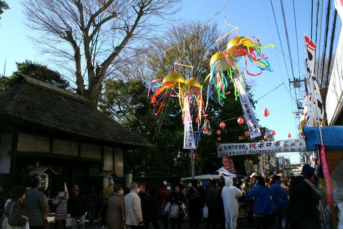 古きよき日本を感じる特大蚤の市