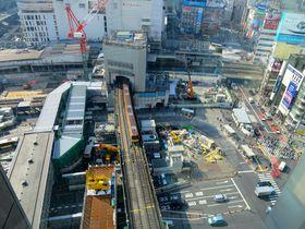 まるでジオラマ!渋谷の今が丸見え!渋谷ヒカリエ『スカイロビー』