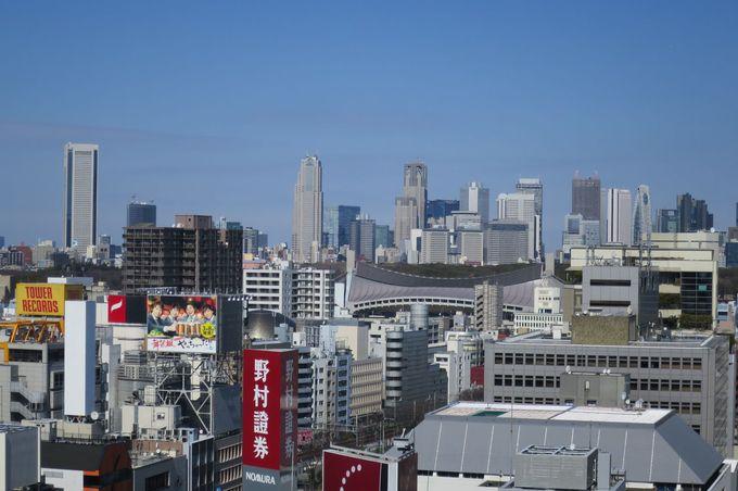 渋谷から見る新宿って実はちょっとレア