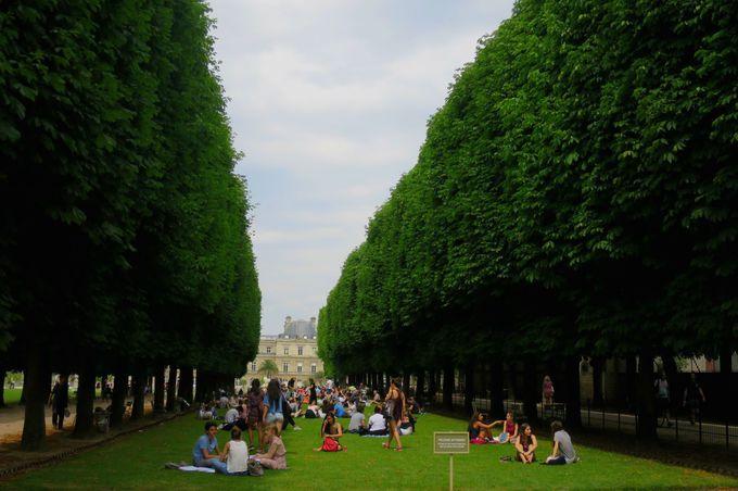 地元の学生のように過ごすパリ