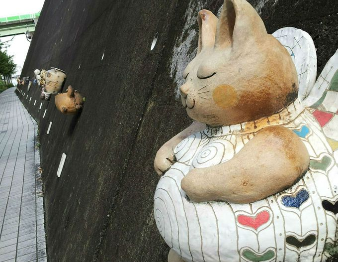 焼き物の町「常滑やきもの散歩道」と猫好き必見のネコスポット