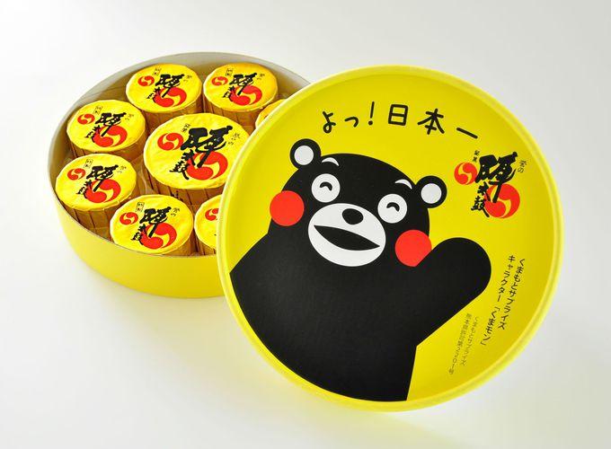 営業部長くまモンが有名な「熊本」
