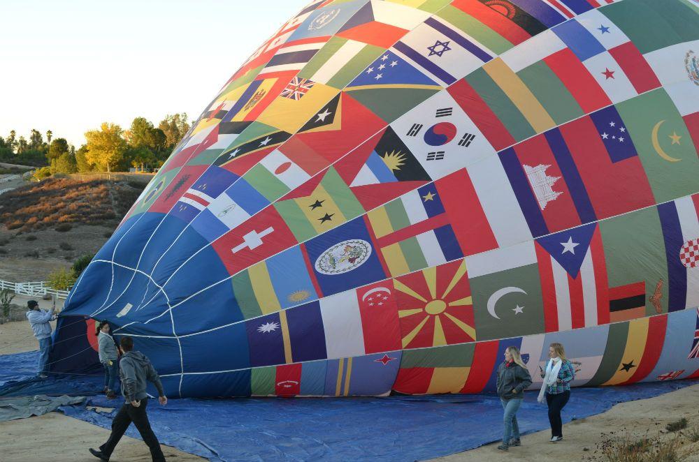 飛行中だけじゃない!熱気球の楽しみ方