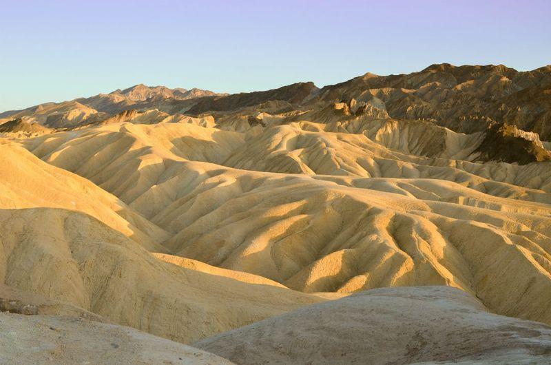 デスバレー国立公園は北アメリカで1番○○なレアな場所