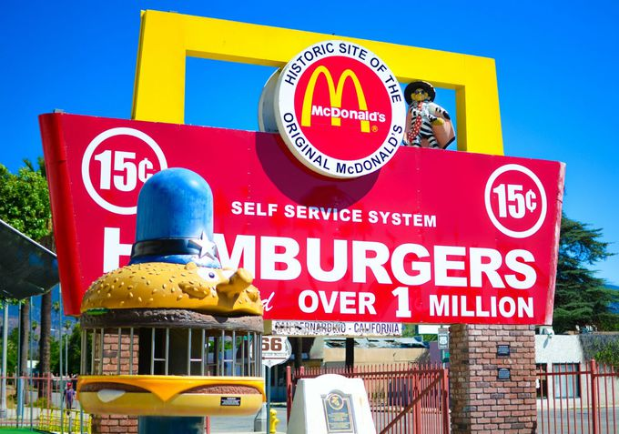 9.Historic Site of the Original McDonald's