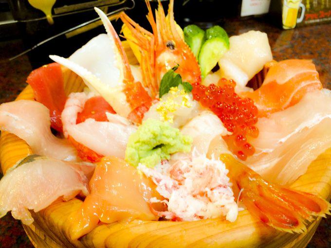 夕食は地元料理を!朝食は金沢の台所「近江町市場」へGO!
