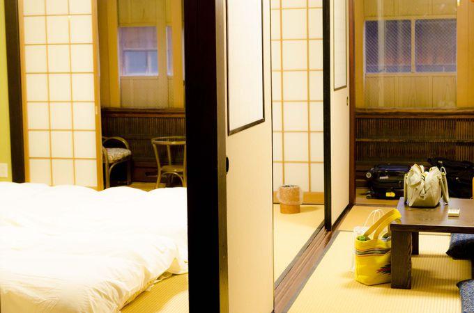 快適な広さの部屋