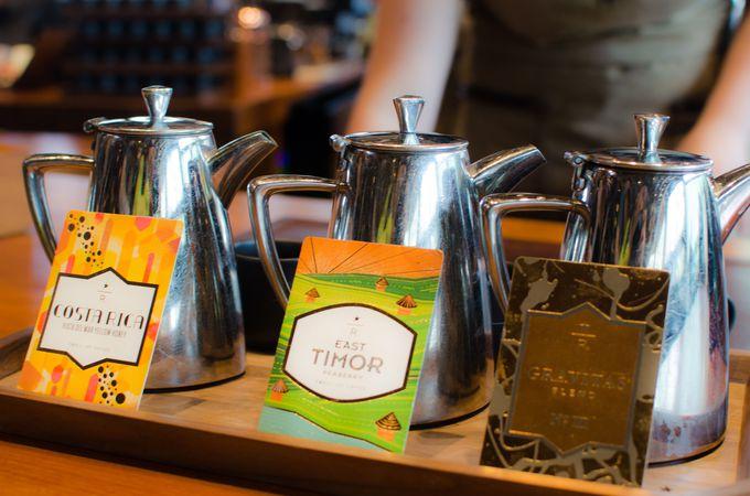 珍しいコーヒーのテイスティングが可能