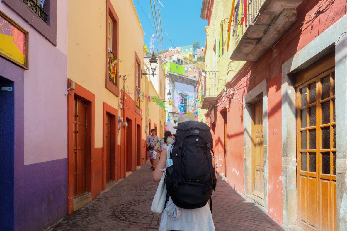 メキシコシティーから1泊2日で行くグアナファト観光モデルコース