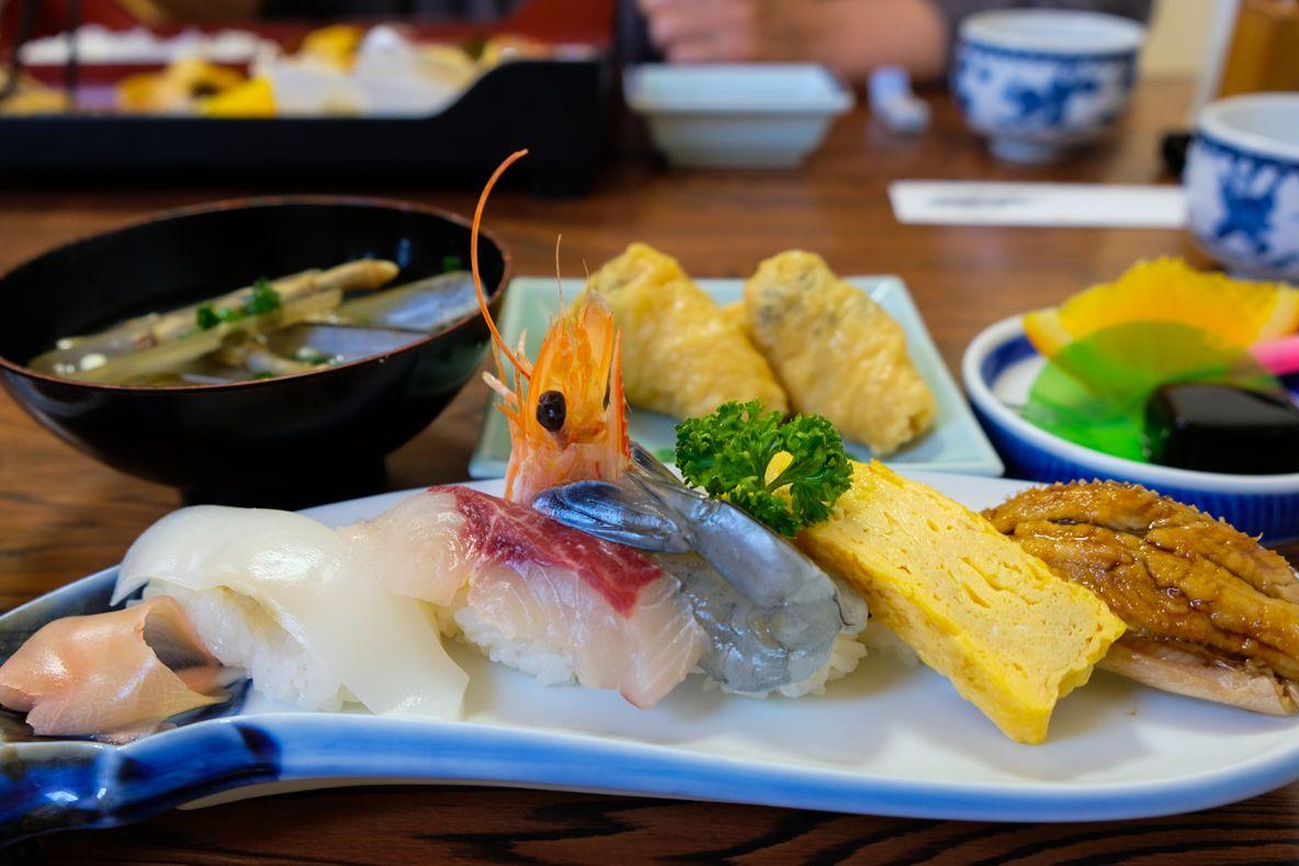 国東のとびっきり新鮮な魚を堪能