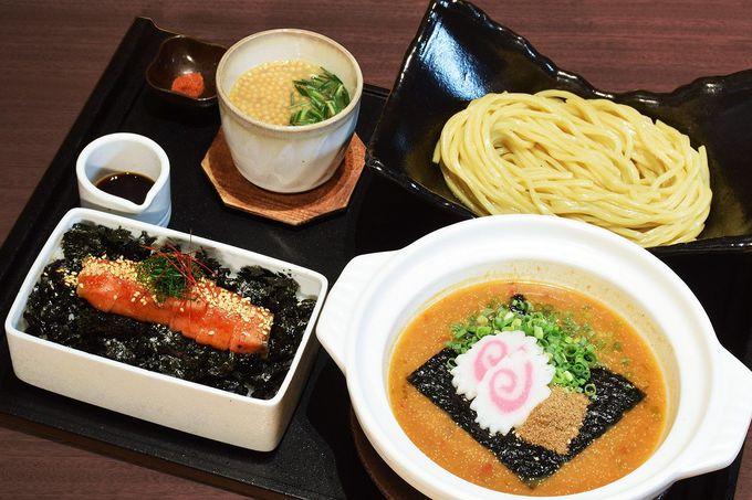 明太子尽くしのフルコース「飯麺吸セット」