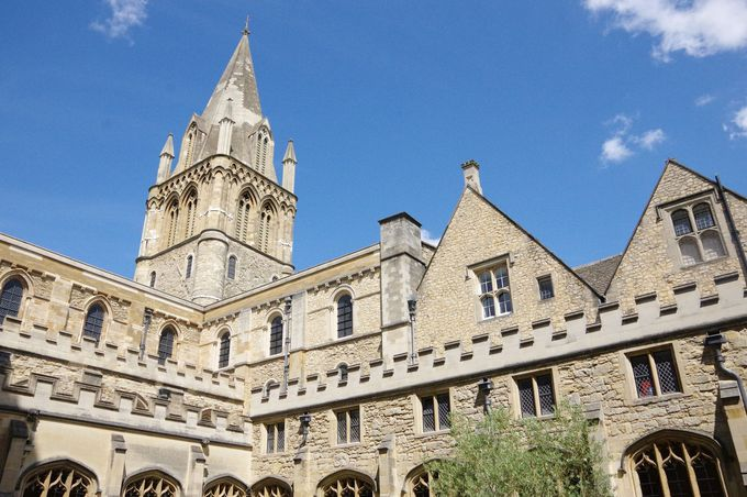 ロケ地だらけ!名門「オックスフォード大学」