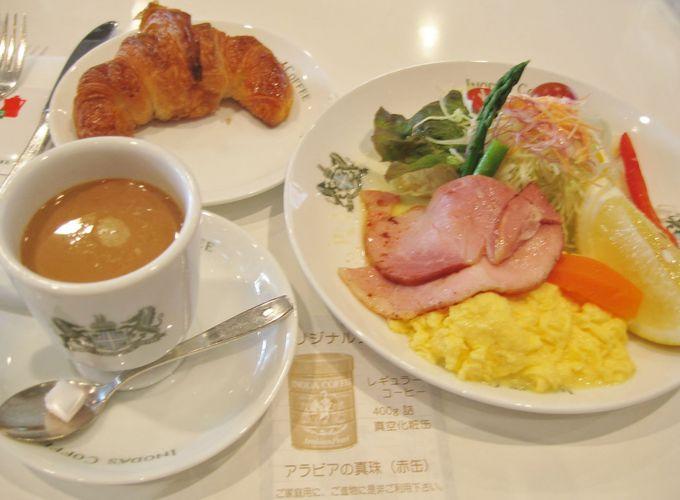 イノダコーヒ本店で頂く、京の朝食