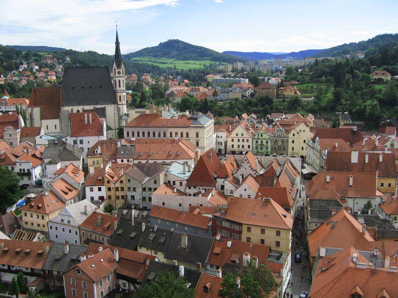 世界一美しい町!中世の町並みが残るチェコ・チェスキークルムロフ