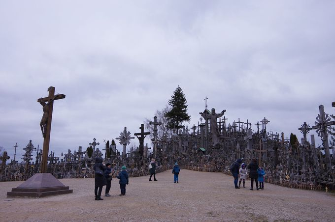 十字架だらけの「十字架の丘」