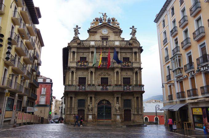 中世の面影を残す旧市街
