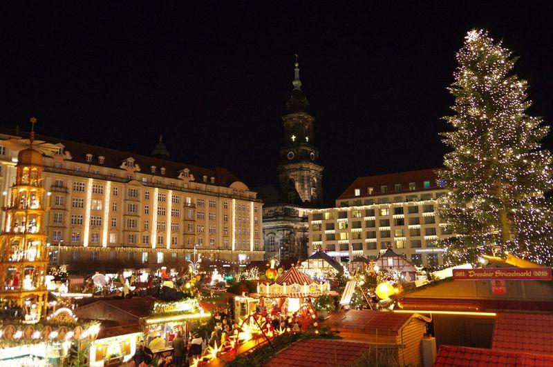 ドイツ最古のクリスマスマーケット!ドレスデン「シュトリーツェル・マルクト」