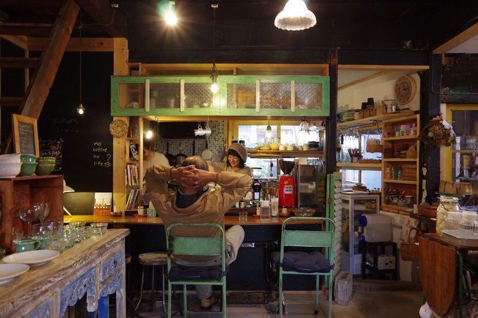ゆったりできるカフェ「かぴばらこーひー」