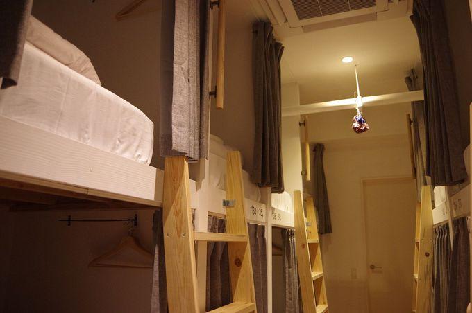 まるで秘密基地のようなベッドスペース