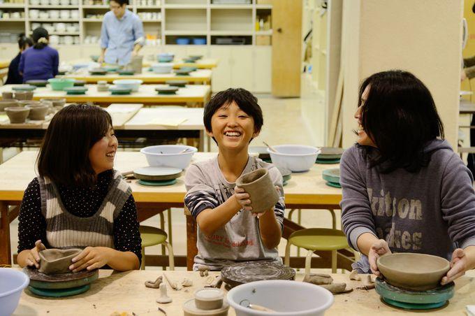 誰でも楽しめる陶芸体験