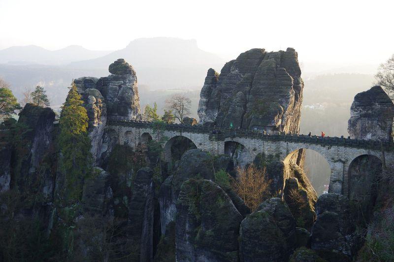 バスタイ橋からの絶景