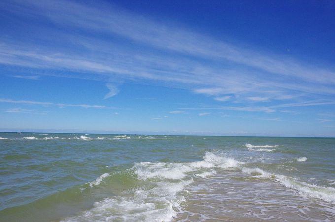 世にも珍しい?!2つの海が出会うグレーン(Grenen)岬