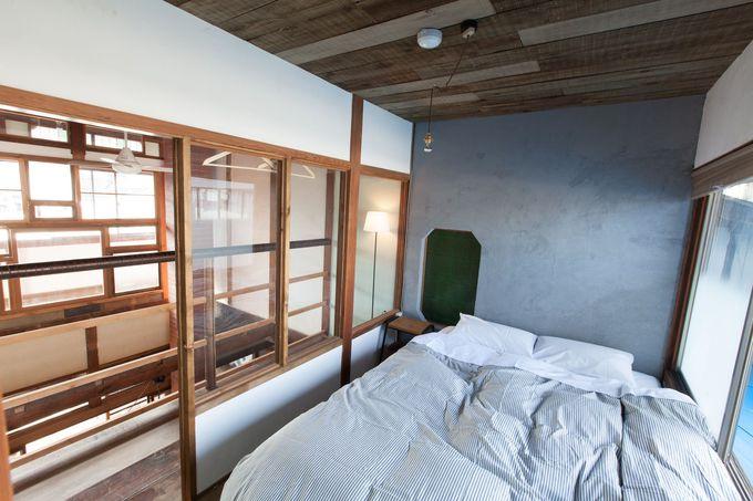 2階にはドミトリーと個室のお部屋