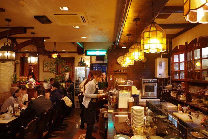 昭和レトロなインテリア。これぞ喫茶店!